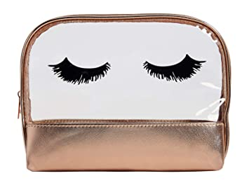 8c309c179141 Amazon.com : Maurices Women's Flawless Cosmetic Bag Misc Clear : Beauty