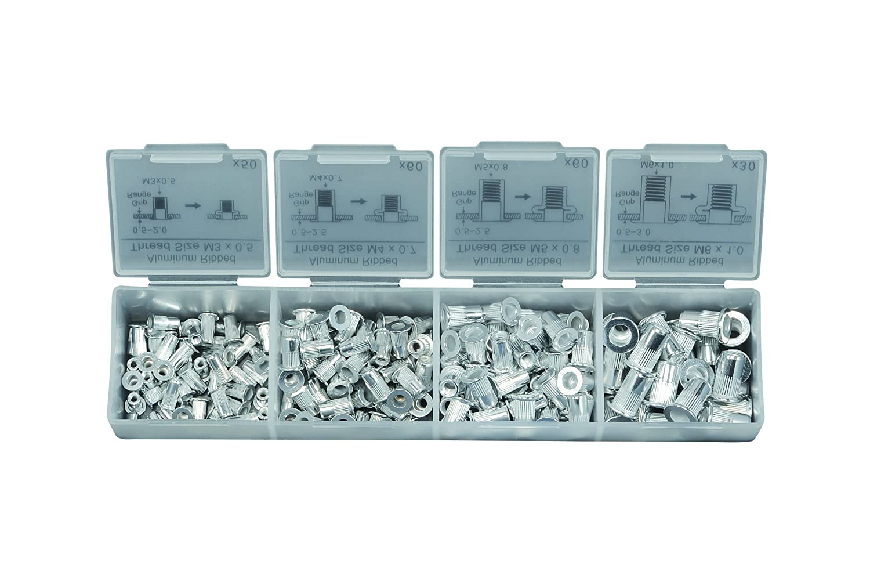 Heytec Heyco 01261001000 Threaded Rivet Set in Box Heyco Heytec