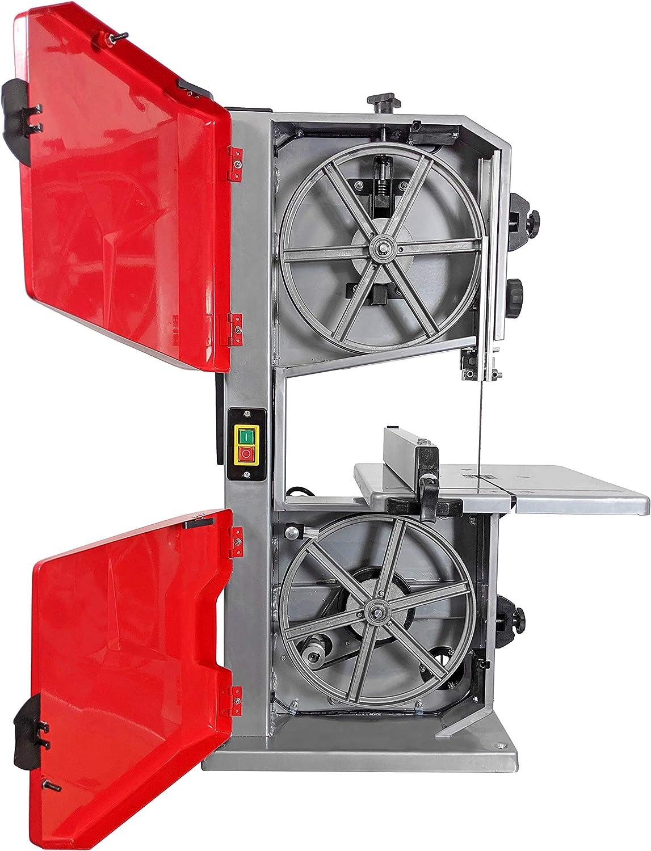 500 Watt, max. Altezza di taglio 115 mm, larghezza di taglio 245 mm, tavolo da lavoro orientabile a 45/°, incl. guida parallela, con cursore. Sega a nastro Crossfer BS255