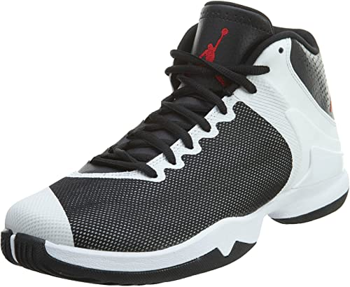 Pensativo facil de manejar Tarjeta postal  Nike Jordan Super.Fly 4 PO, Men's Basketball Shoes, Black / Red / White  (Black / Gym Red-White-Infrrd 23), 14 UK (49.5 EU): Amazon.co.uk: Shoes &  Bags