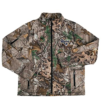 NFL Huntsman Realtree Xtra Camoflauge Softshell Jacket. by Dunbrooke Apparel 4dfd4f95c