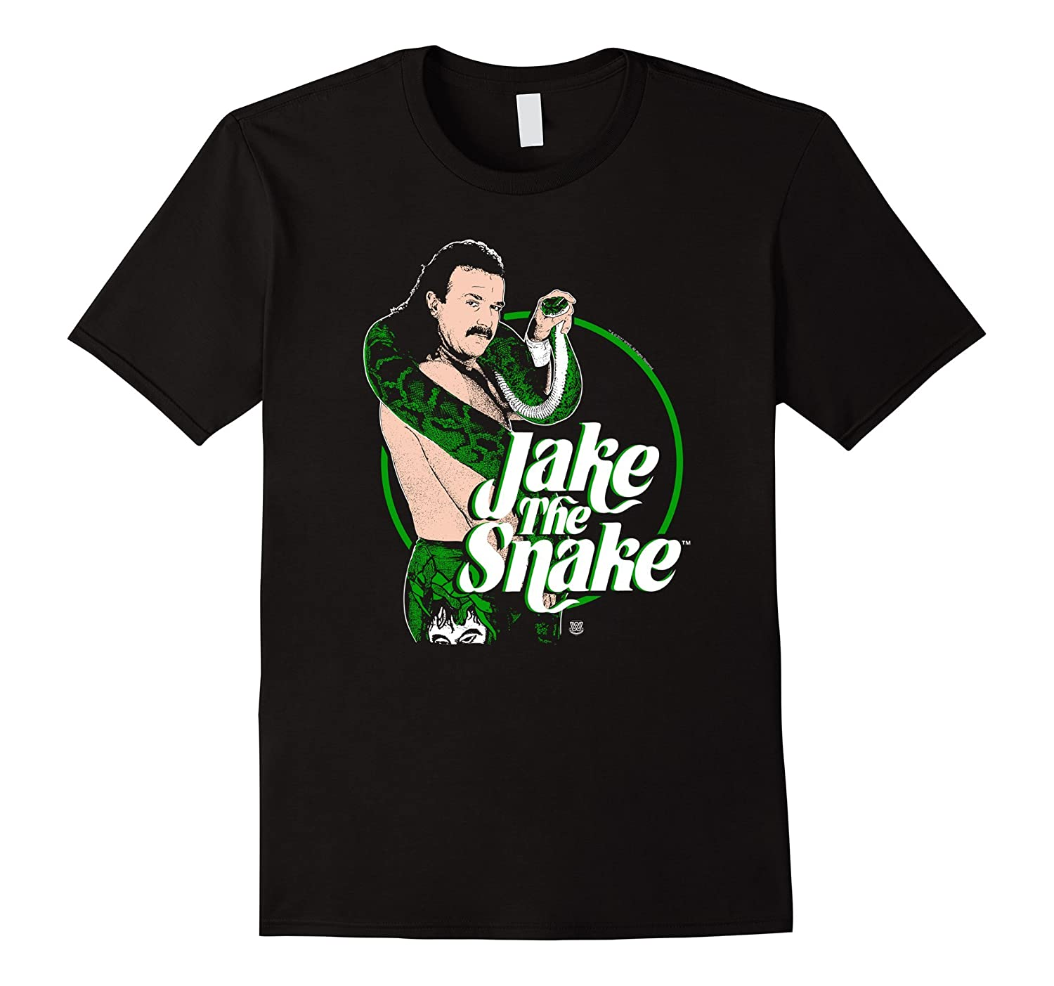 WWE Jake The Snake Roberts with Logo-RT
