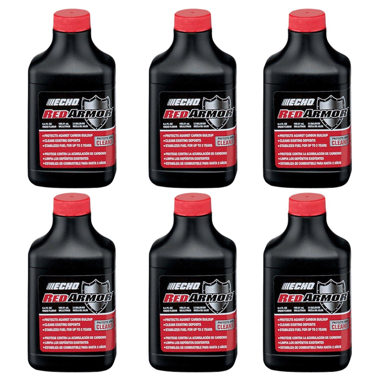 Echo 6550025 PK6 Red Armor 6.4oz 2-Stroke Oil Mix, 2.5 Gallon (50:1)