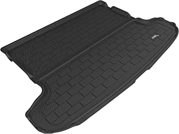 Kagu Rubber Black 3D MAXpider Complete Set Custom Fit All-Weather Floor Mat for Select Hyundai Tucson Models