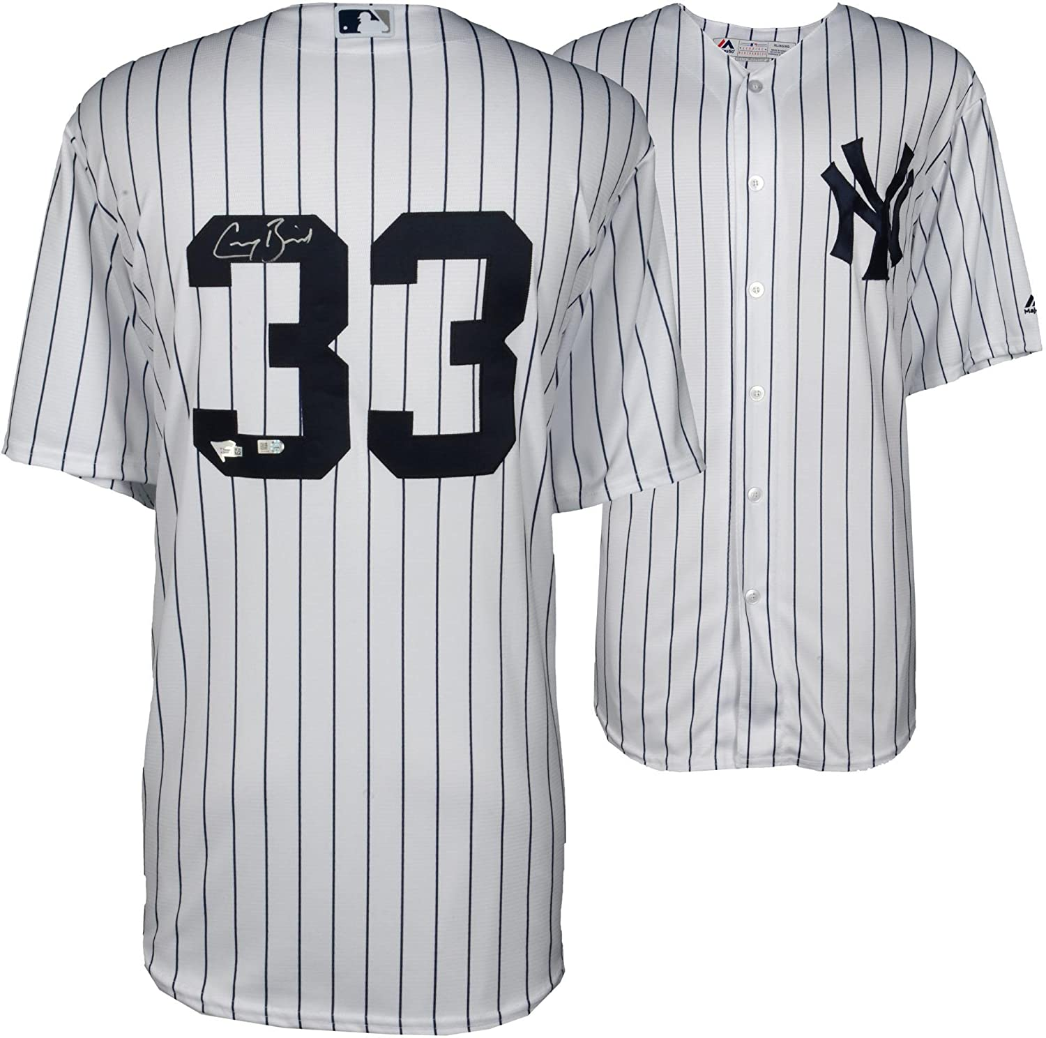 055939244 Greg Bird New York Yankees Autographed Majestic White Replica Jersey - Fanatics  Authentic Certified - Autographed MLB Jerseys at Amazon s Sports ...