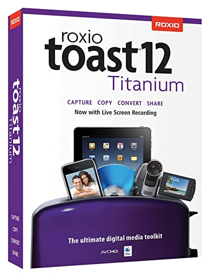 amazon com roxio toast titanium 12 mac old version software rh amazon com roxio toast 14 titanium manual roxio toast 16 user manual