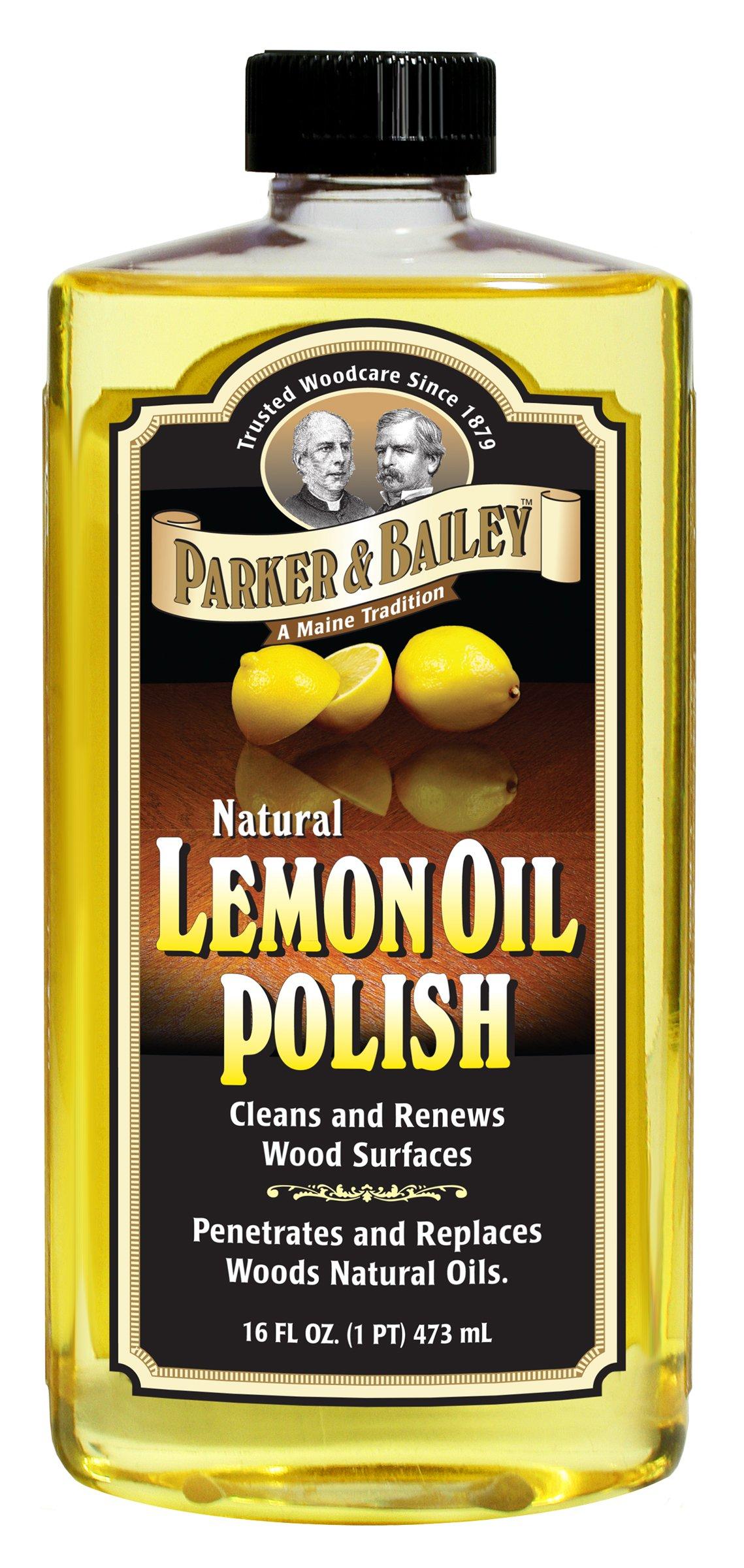 Parker & Bailey Natural Lemon Oil Polish 16oz