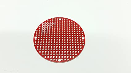 amazon com round 2 blank pcb 289 holes office products rh amazon com