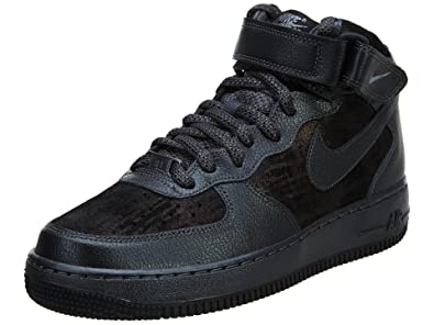 Nike Air Force 1  07 Mid Prm Mens Style  805292 001 Size  9 M US   B01A9UP9MO