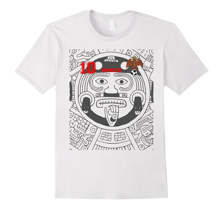 MEXICO SHIRT MEN AZTECA FAN 2018 HOME EL TRI UNI7ED-T-Shirt
