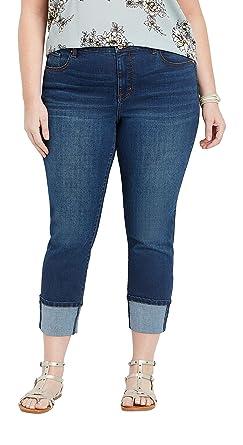 maurices - Pantalones de chándal para Mujer (Talla Grande) - Azul ...