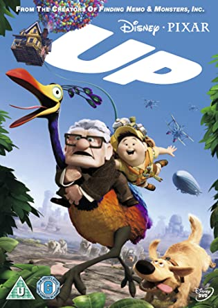 Up DVD 2009 Amazoncouk Ed Asner Christopher Plummer Jordan