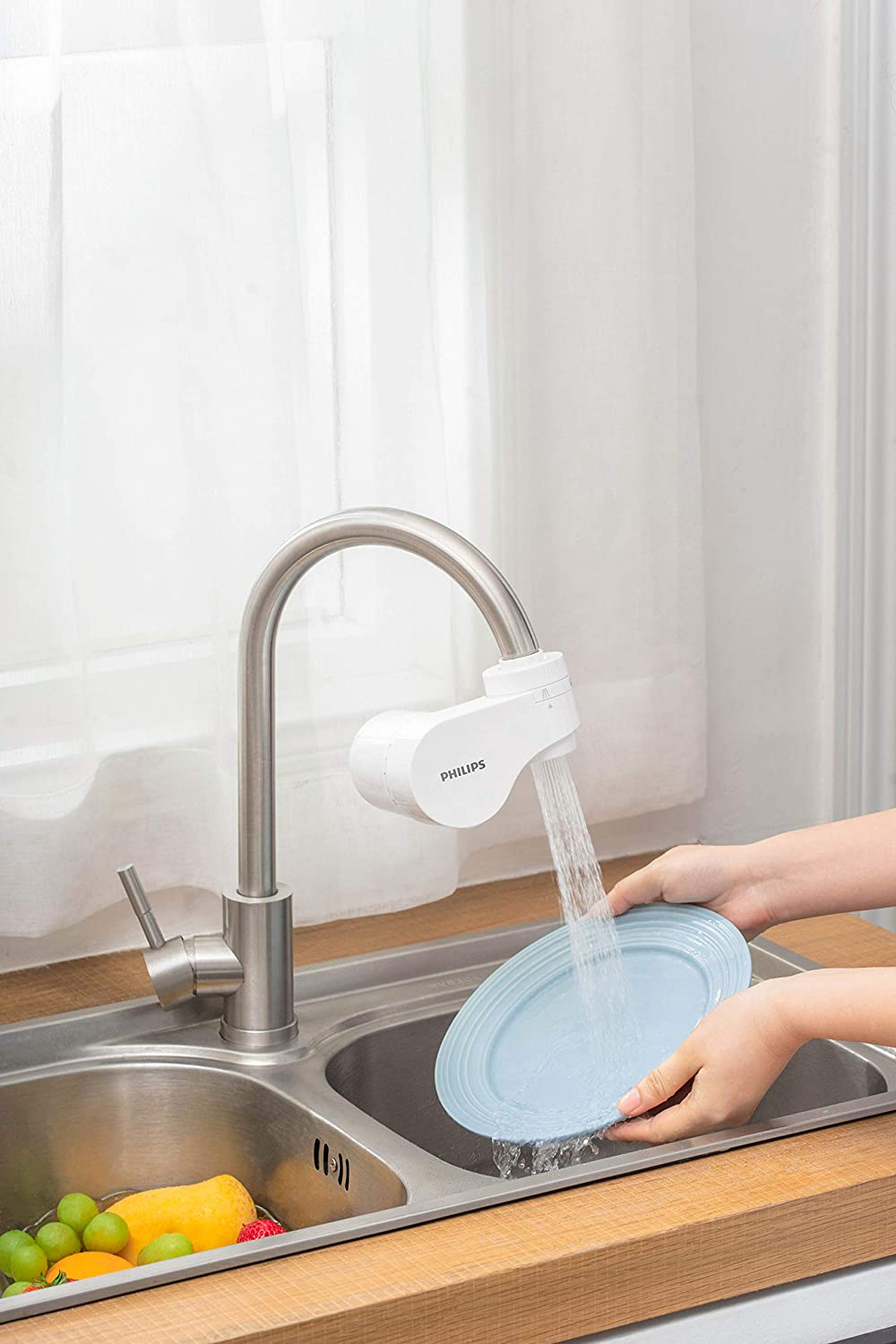 1200 liters Plastic Philips AWP3754 X-Guard On Tap Water Filter
