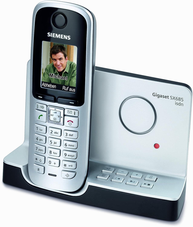 Gigaset SX685 ISDN - Teléfono inalámbrico (pantalla a color, contestador automático, Bluetooth), color titanio [Importado de Alemania]: Amazon.es: Electrónica