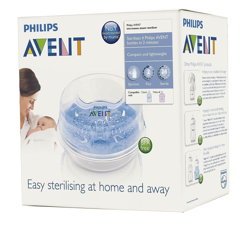 Amazon.com: Philips AVENT Esterilizador de vapor para ...