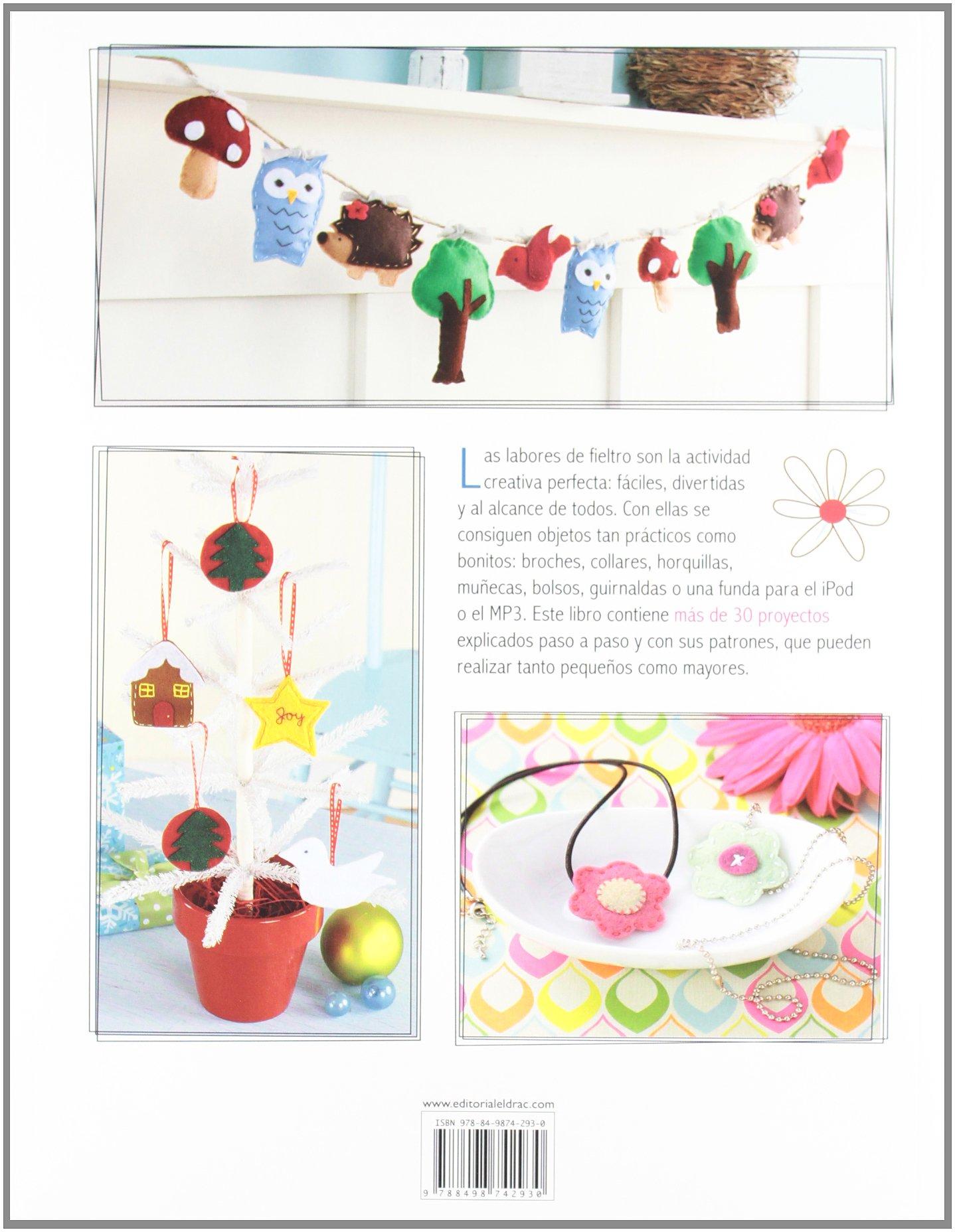 Muñecos y accesorios con fieltro: Más de 30 proyectos con sus patrones Artesania Y Manualidades: Amazon.es: Kimberley Layton: Libros