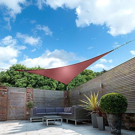 Kookaburra Toldo Vela de Sombra Para Jardín - Impermeable - 3.6m ...
