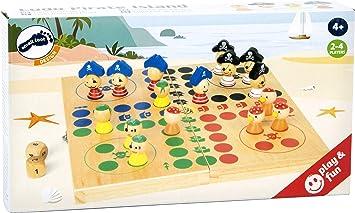 small foot company - Ludo Isla del Pirata: Amazon.es: Juguetes y juegos