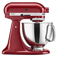 KitchenAid KSM150PSER Artisan 5-Quart Tilt-Head Stand Mixer Deals