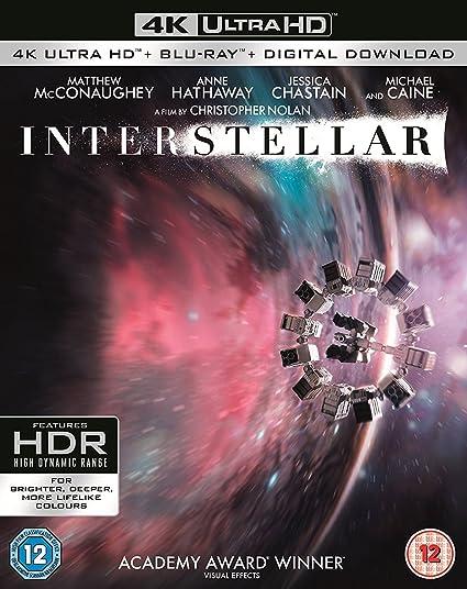 Amazon in: Buy Interstellar (4K UHD + Blu-ray + Bonus +