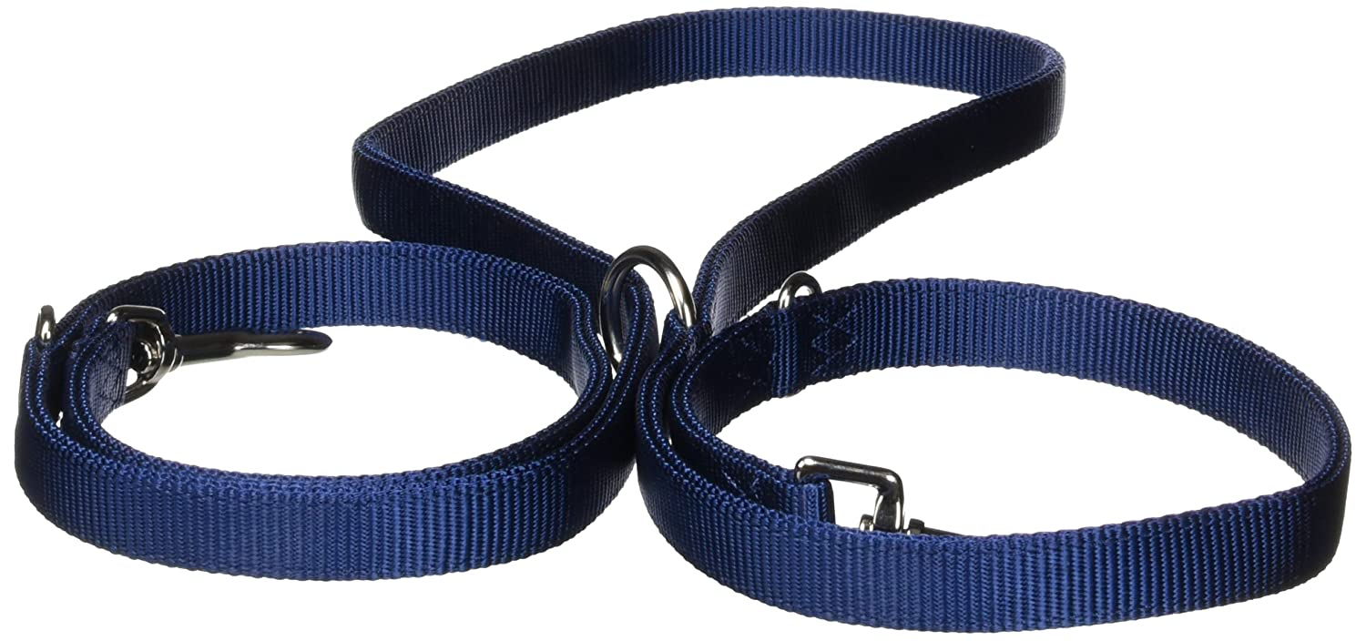Hamilton Double Thick Nylon European Lead, 3 4-Inch, Navy bluee