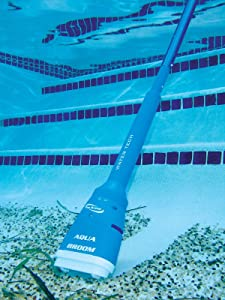 (GG) Aqua Broom Handheld Battery Operated Spa & Pool Vacuum Water Tech Pool Blaster