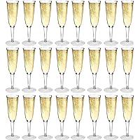 Copa alargada de champán - Plástico - 200