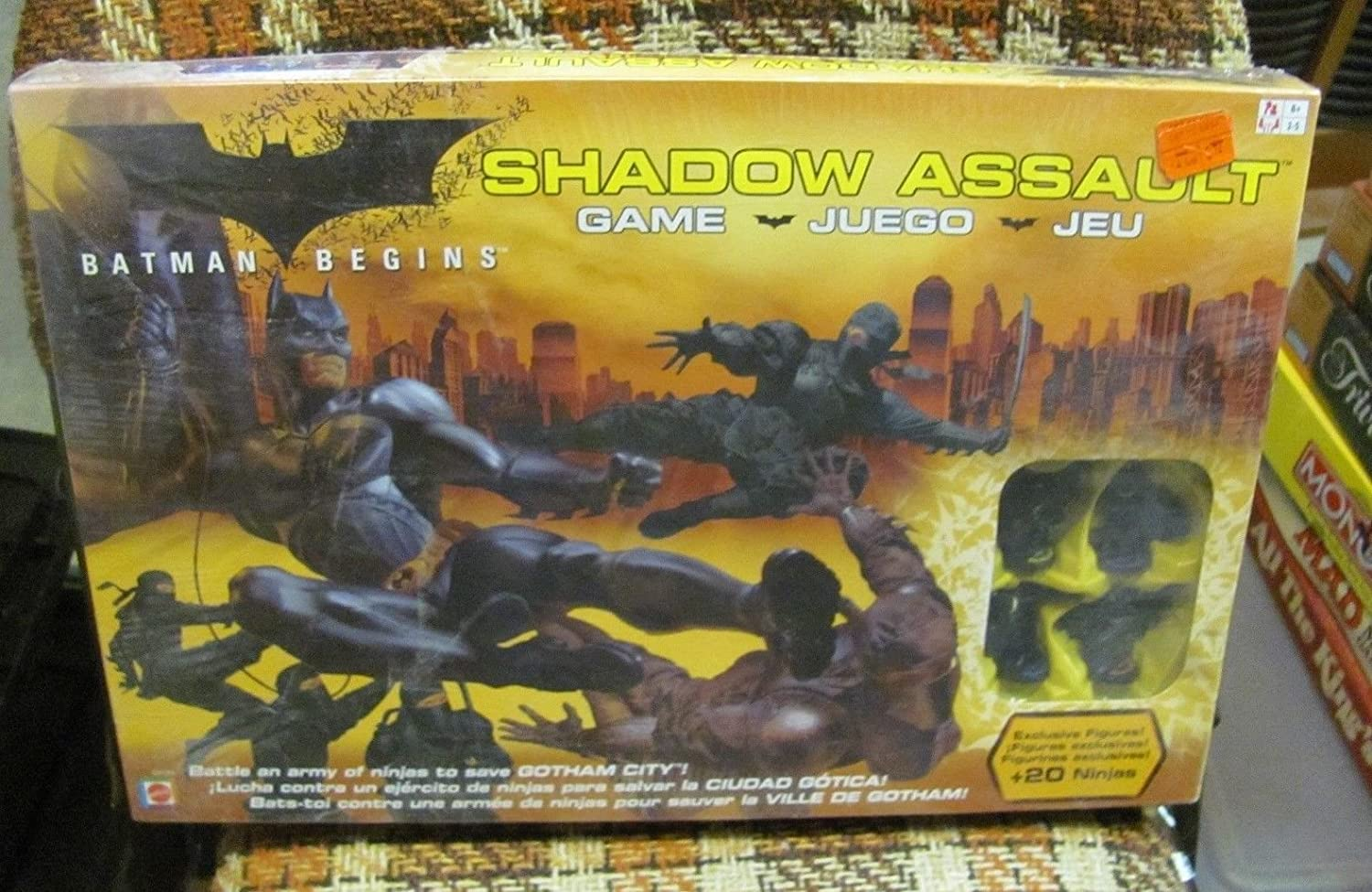 Amazon.com: Batman Begins Shadow Assault Game SEALED NEW .HN ...