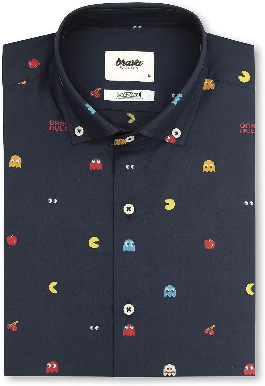 Brava Fabrics - Camisa Hombre - Camisa de Algodón Orgánico Hombre ...