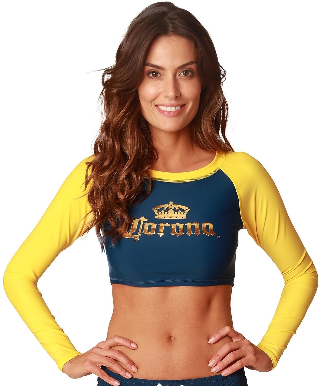 Corona Sexy Crop Rash Guard Image 2