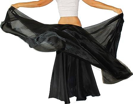 db7e594cd Womens 100% Silk Belly Dance Veil Shawls Wraps Solid Colors. Nahari Silks  Womens 100% Silk Dance Scarves Shawls Wraps Solid Colors ...