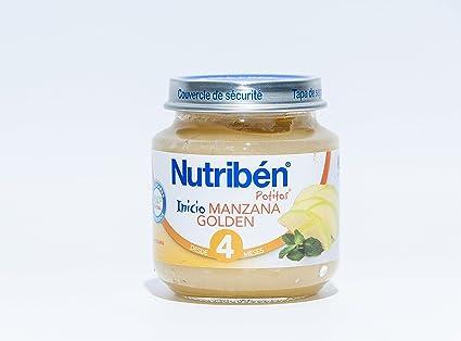 NUTRIBEN INICIO MANZANA GOLDEN 130 GR