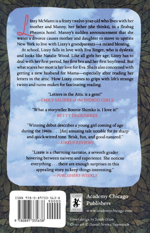 letters in the attic bonnie shimko 9780897335638 amazon com books
