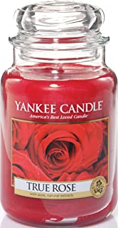 Amazon.com: Yankee Candle Company Fresh Cut Roses Large Jar Candle ...