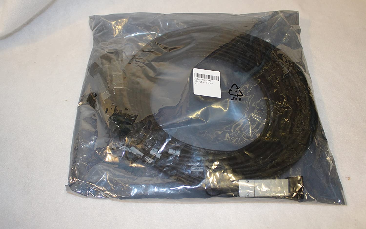 HP JG331A X240 40G QSFP+ to 4x10G SFP+ 5M Direct Attach Copper Splitter Cable