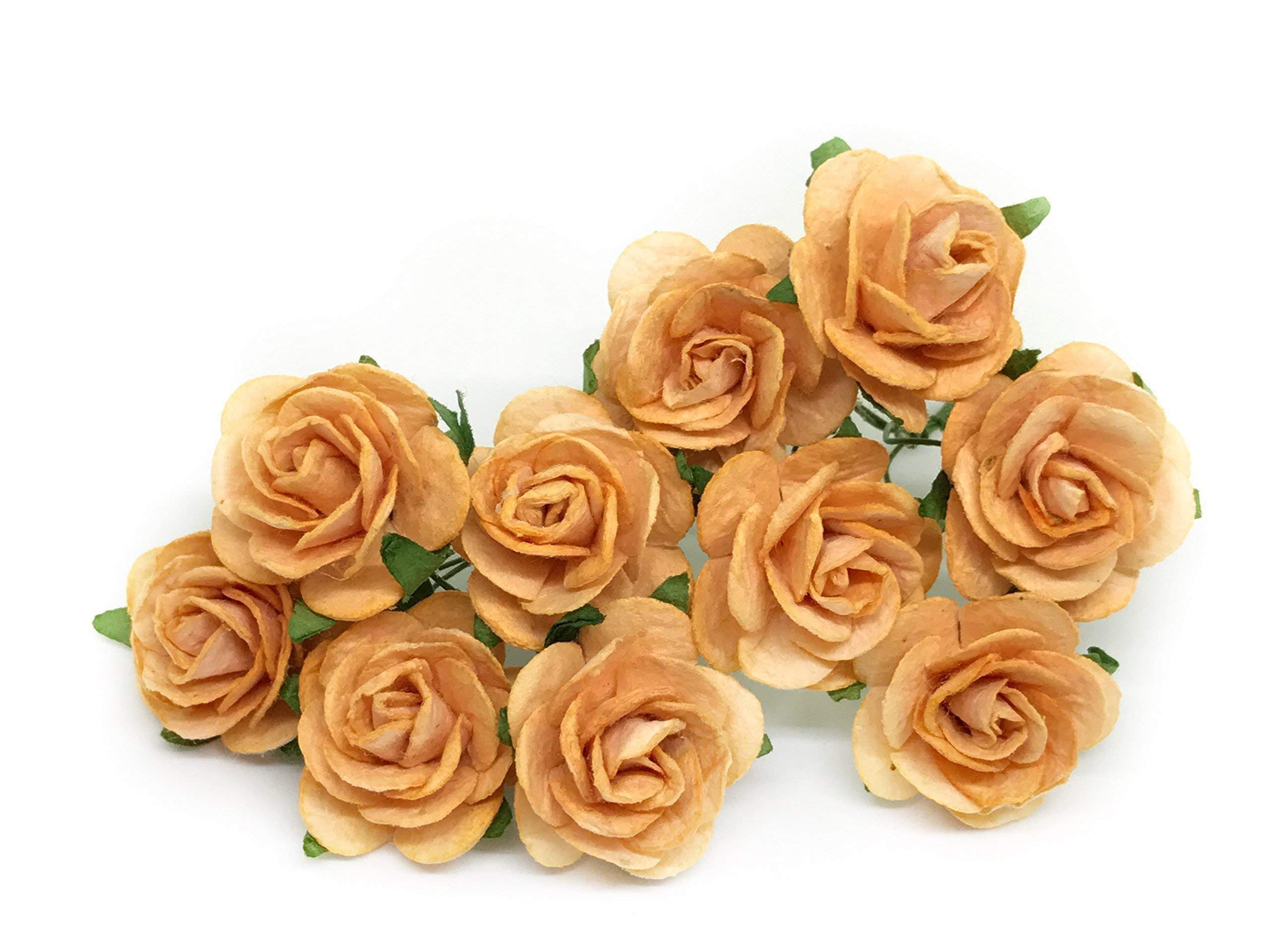 1-Orange-Paper-Flowers-Paper-Rose-Artificial-Flowers-Fake-Flowers-Artificial-Roses-Paper-Craft-Flowers-Paper-Rose-Flower-Mulberry-Paper-Flowers-20-Pieces