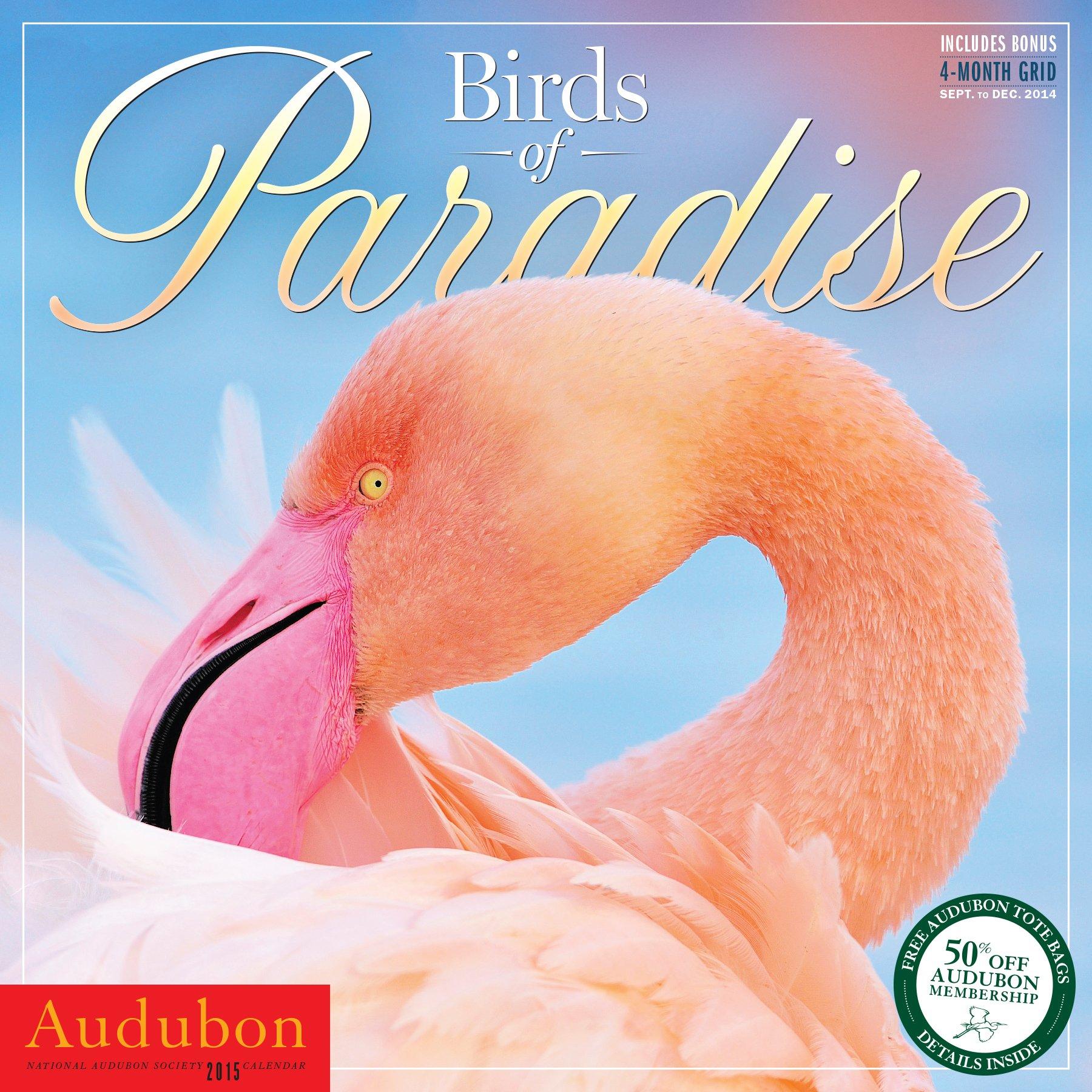 Audubon Birds of Paradise Wall Calendar 2015 PDF