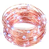 Amazon Price History for:String Lights,Oak Leaf 2 Set of Micro 30 Leds Super Bright Lights Copper Wire Fairy Starry String Lights for Home Bedroom Party Trees - Blue­