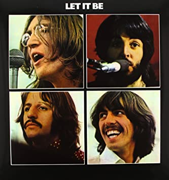 Image result for beatles final album let it be