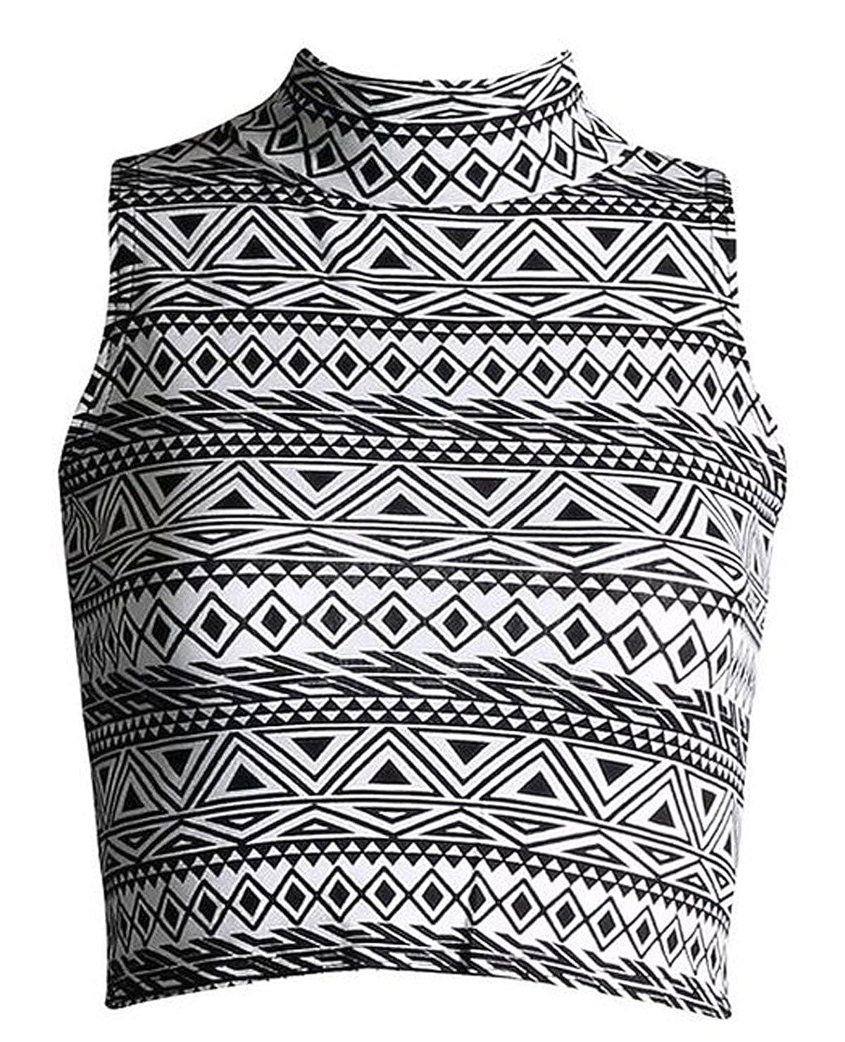 Fashion Attleya-Ciondolo da donna a forma di tartaruga con collo a Polo, modello: Canotta Crop Top
