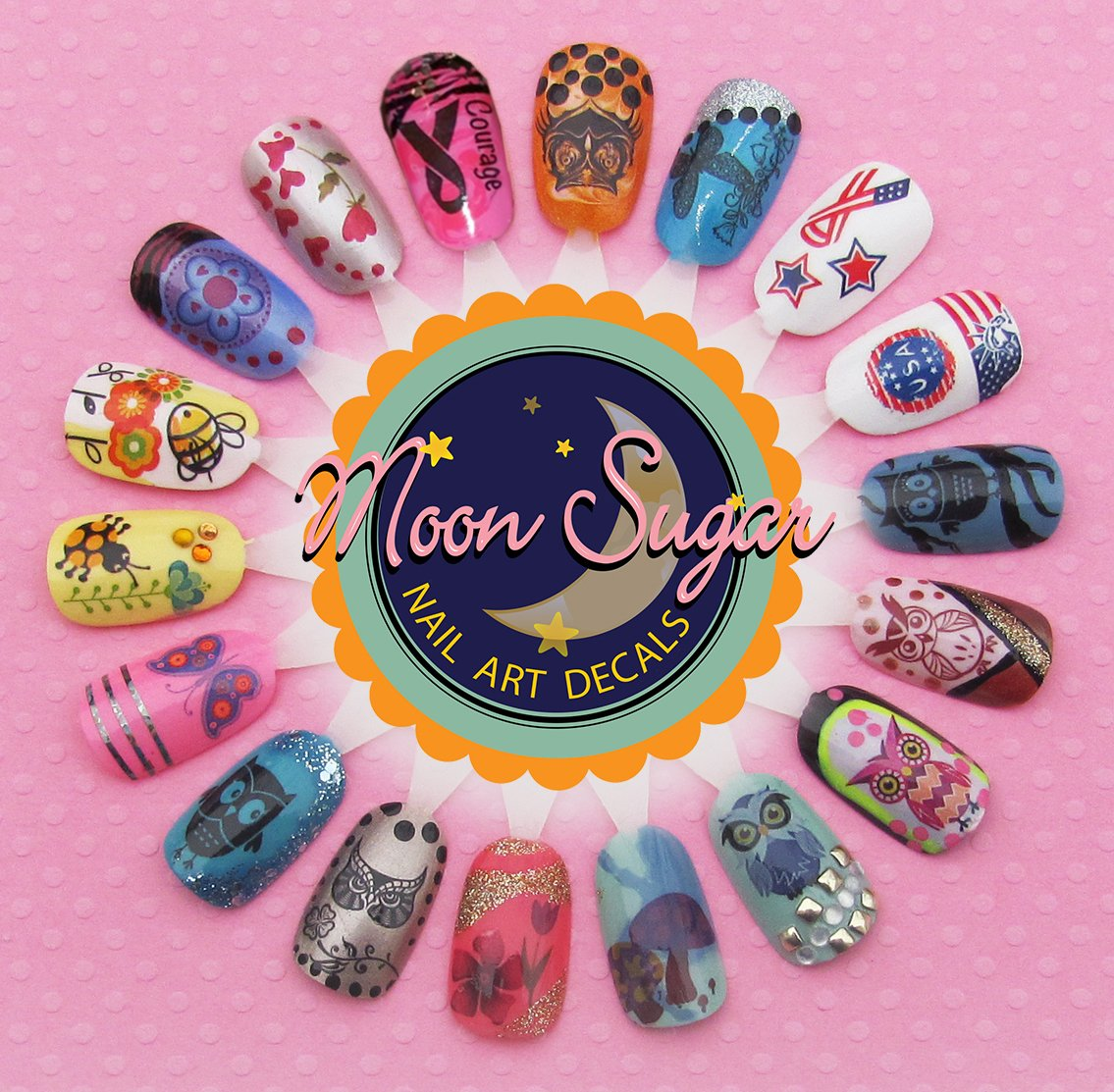 Amazon com las vegas casino assortment nail art waterslide decals salon quality beauty
