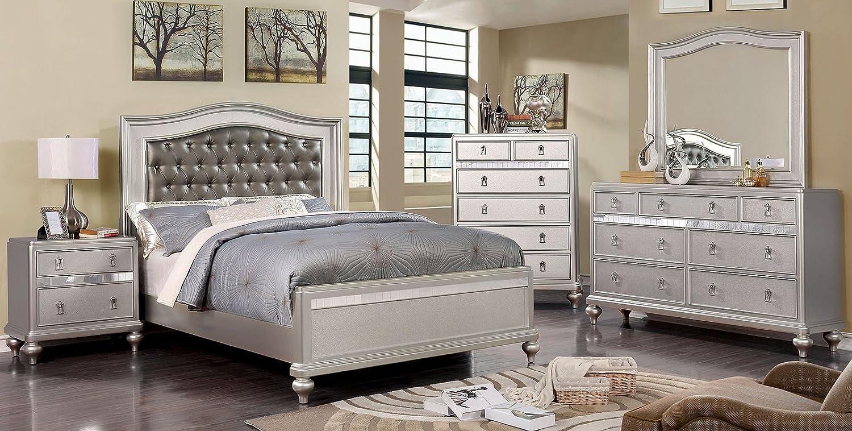 Amazon Com Esofastore Ariston Bedroom Furniture Classic