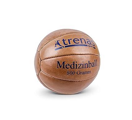 trenas Balón Medicinal de Cuero – 800 Gramos: Amazon.es: Deportes ...