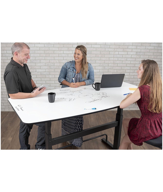 Amazon.com: Mesa de conferencias de pie ajustable en altura ...