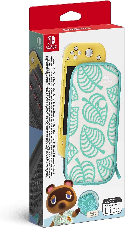 Funda + protector LCD para consola Nintendo Switch Lite edición Animal Crossing: New Horizons (Nintendo Switch Lite): Amazon.es: Videojuegos