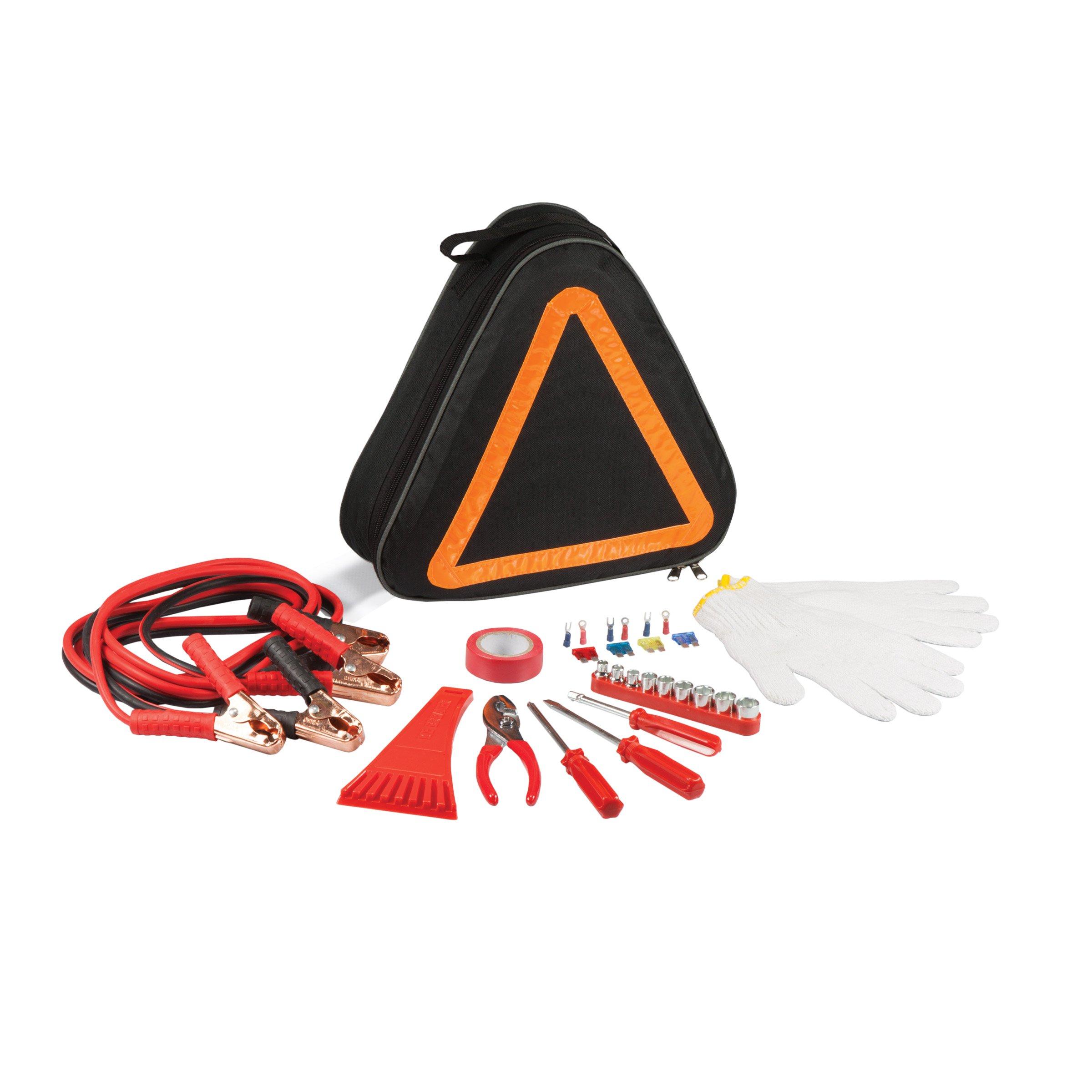 ONIVA - a Picnic Time Brand Roadside Emergency Auto Tool Kit