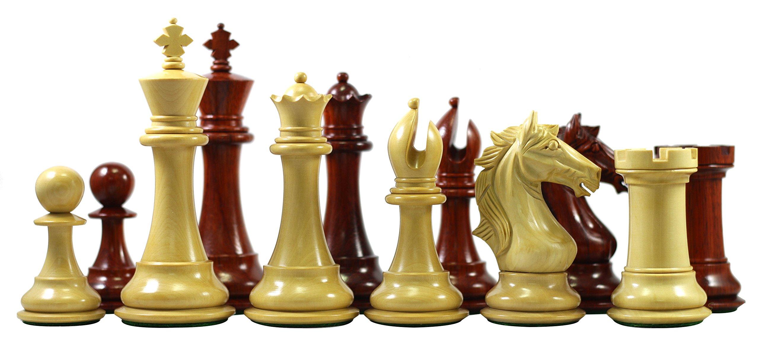 Elite Series Premium Staunton 4'' Chess Set by Staunton Empire (Image #2)