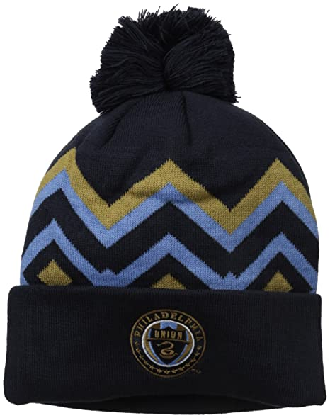 01f52228610f7 Amazon.com   MLS Philadelphia Union Men s Cuffed Knit with Pom