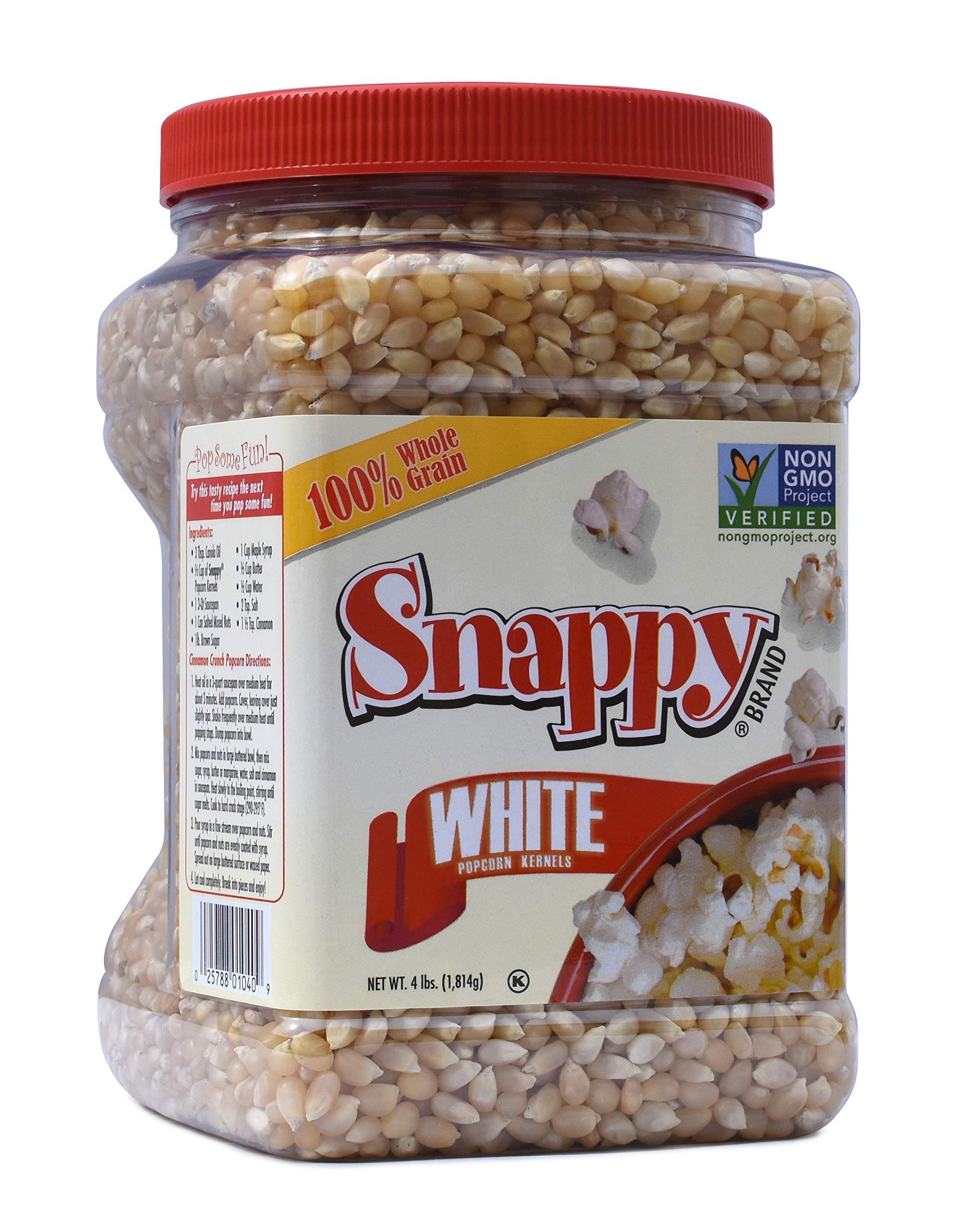 Snappy White Popcorn, 4 Pounds by Snappy Popcorn