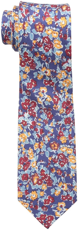 Ben Sherman Men's Goose Floral Skinny Tie Green One Size Randa Neckwear SH24110007